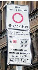 Voyager auto Italie